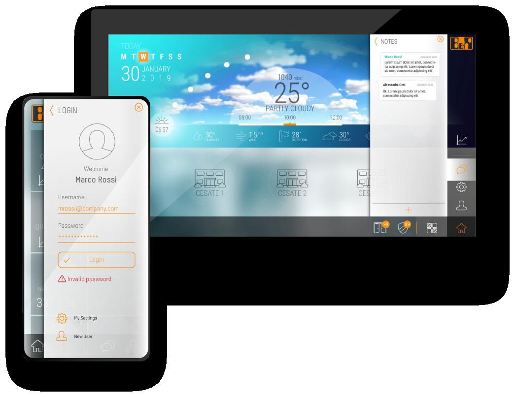 UI Design - Panel PC -Automation